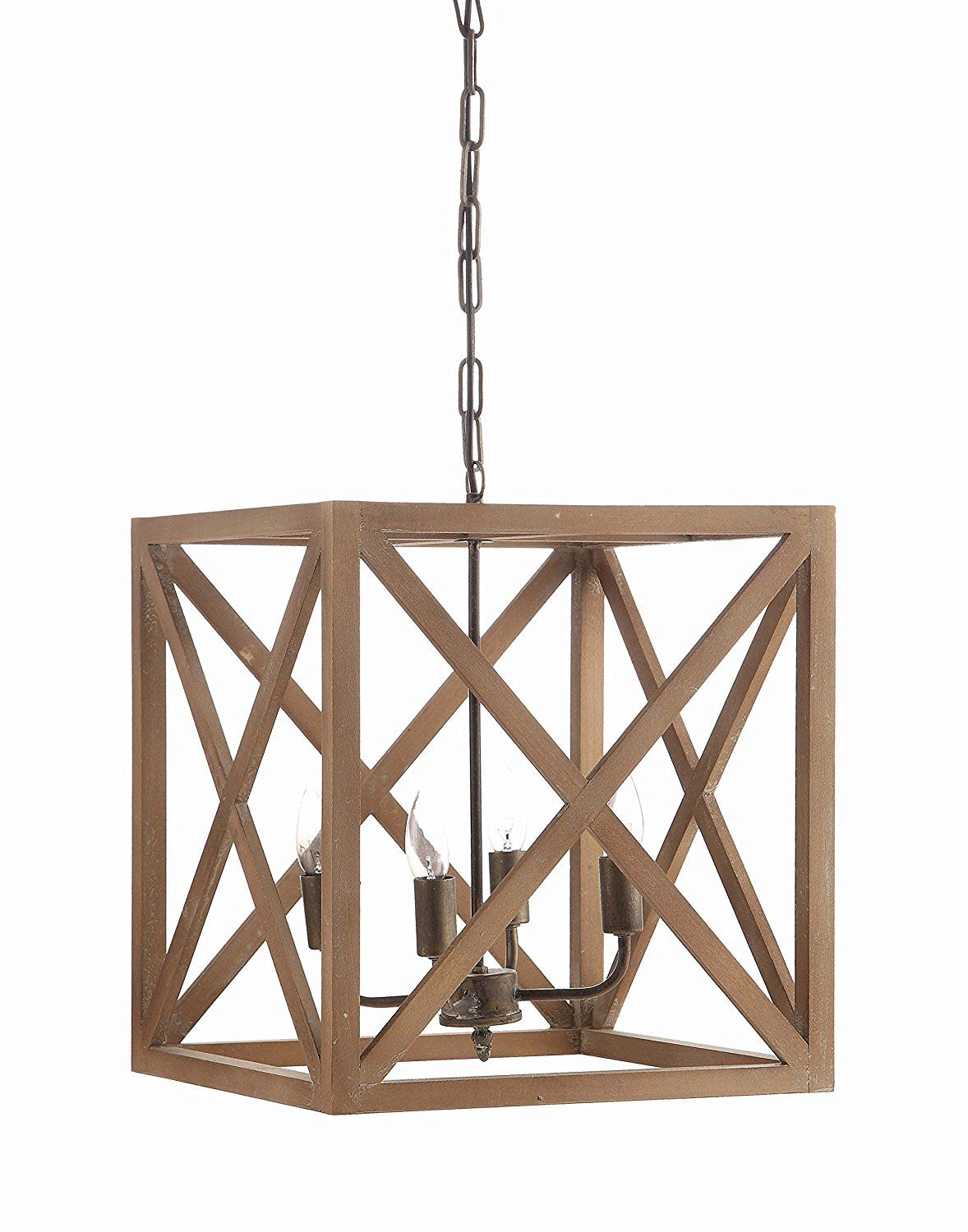 Amazon creative co op metal and wood chandelier 1575 square amazon creative co op metal and wood chandelier 1575 square arubaitofo Images