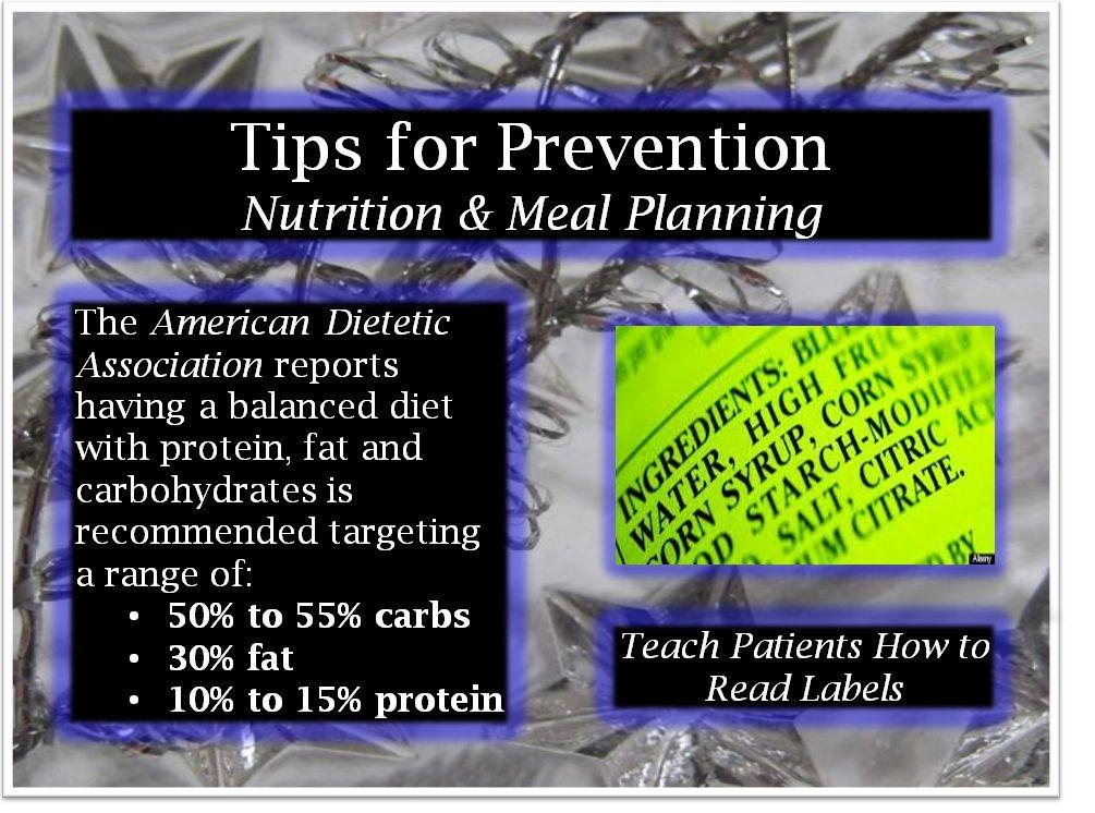 planificación del cuidado de la diabetes