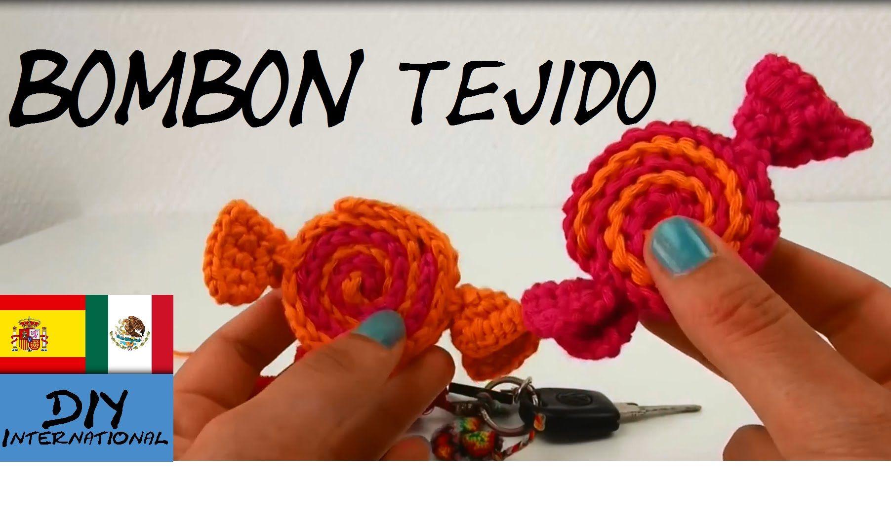 Amigurumis Navidad Paso A Paso : Bombon caramelos tejidos a crochet paso a paso tutorial diy