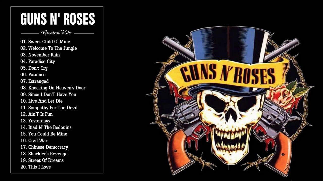 guns n 39 roses greatest hits full playlist 2017 the best songs of guns n 39 roses youtube. Black Bedroom Furniture Sets. Home Design Ideas