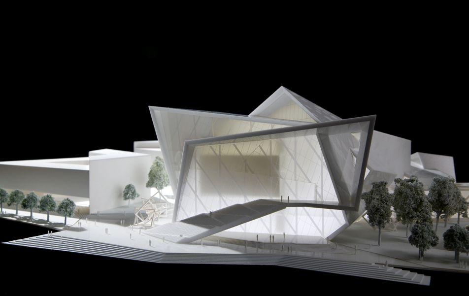 Malmo concert hall radii inc haus der still for Architecture synonym
