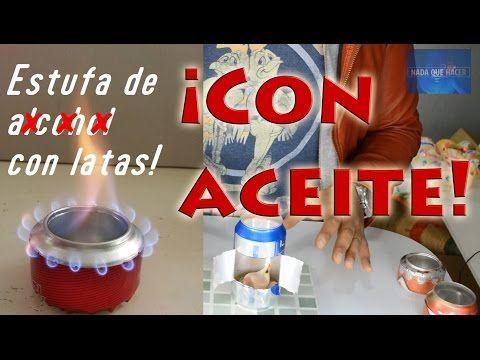 Nueva Estufa Casera Con Latas Sin Alcohol Mini Estufa Y Portatil Nqueh Youtube Fogatas Caseras Lata De Cerveza Accesorios Para Casa