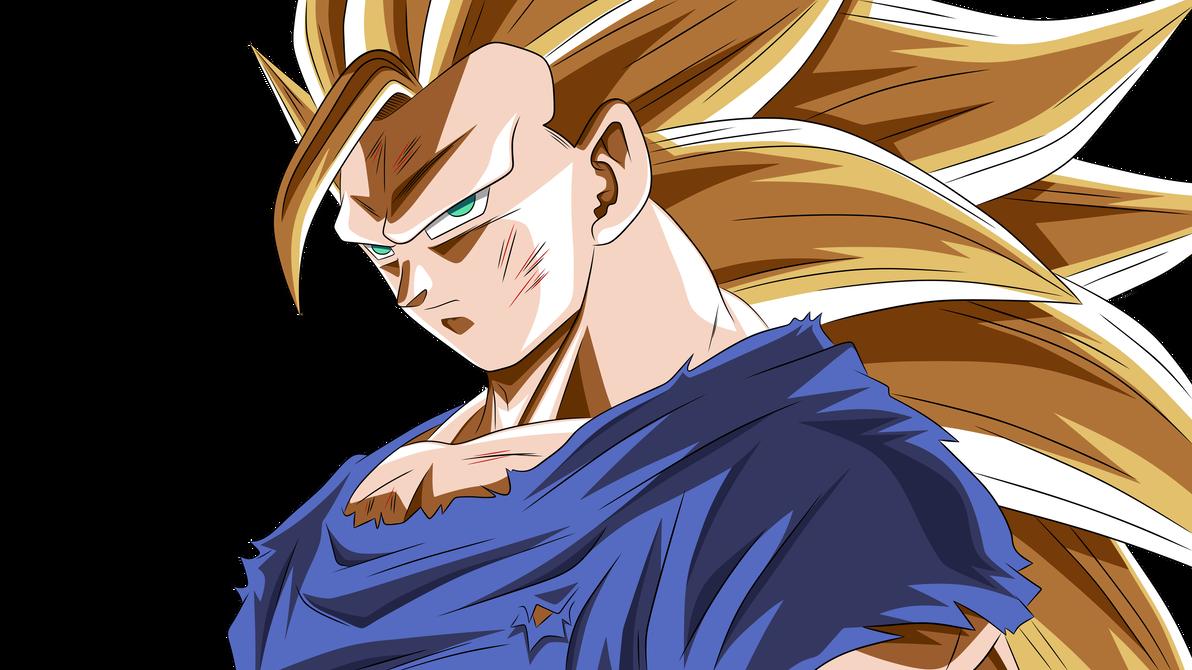 Goku Super Saiyan 3 By Ahmedazwawi Goku Super Saiyan Goku Super Super Saiyan