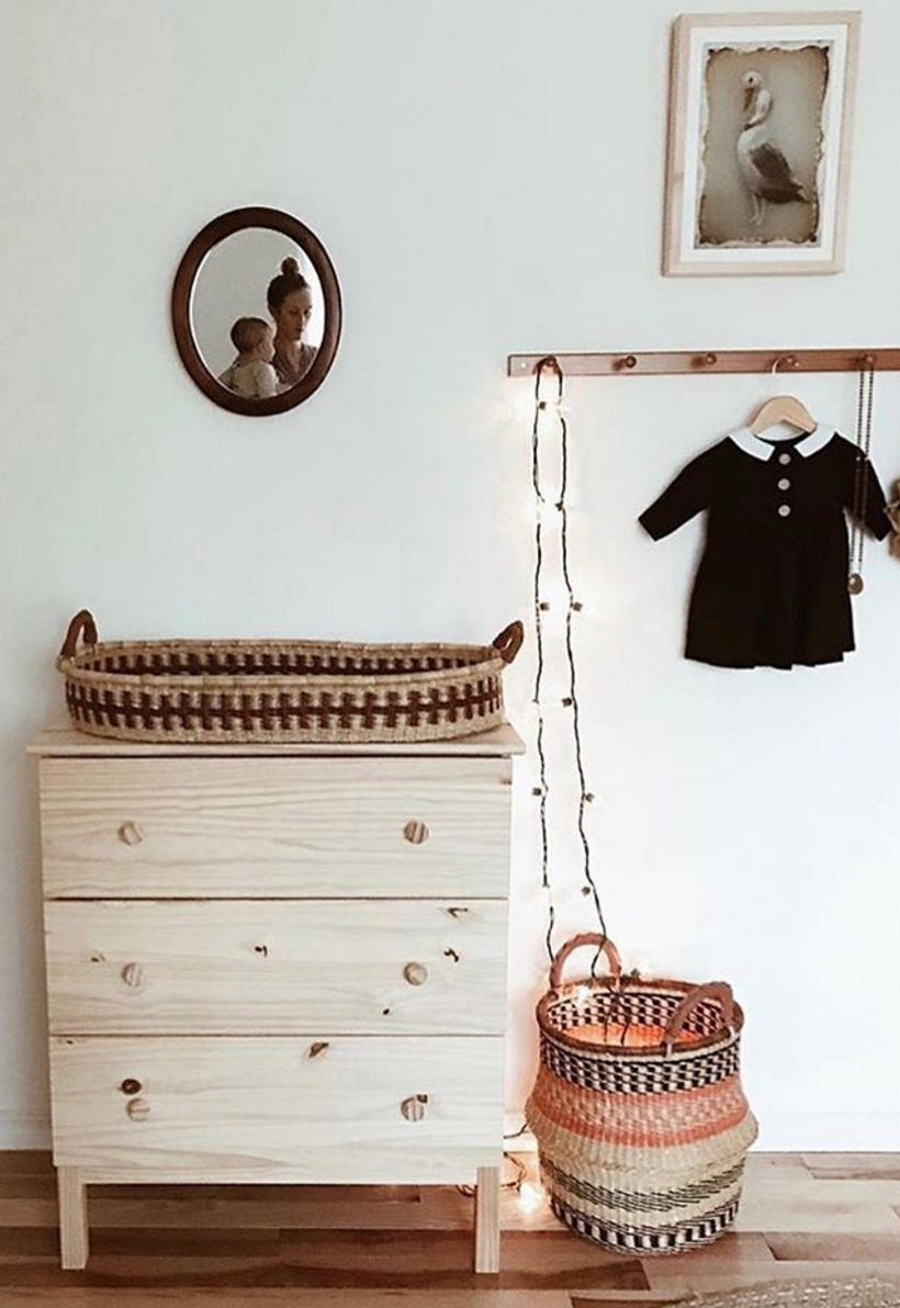 Baby changing table basket designdua on etsy also kid zone rh br pinterest