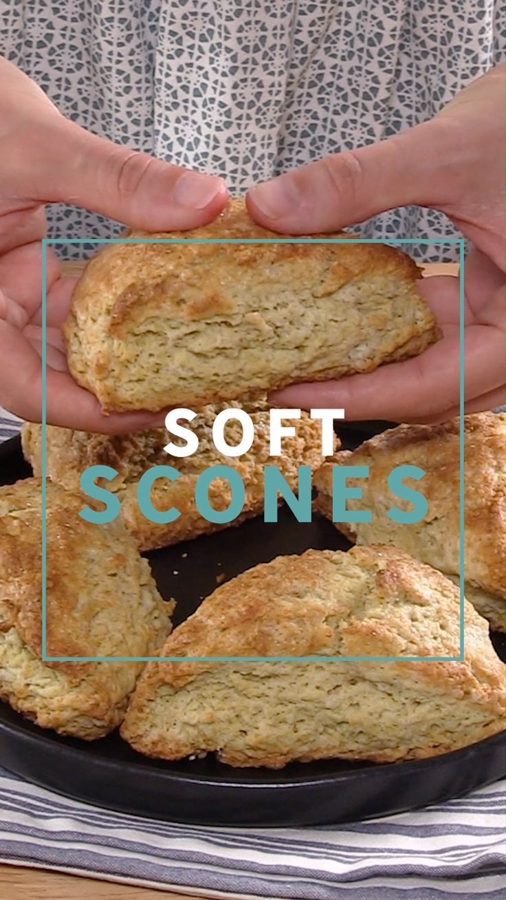 Soft Scones My favorite soft scone recipe! Perfect plain scones that can be flavored any way you like!