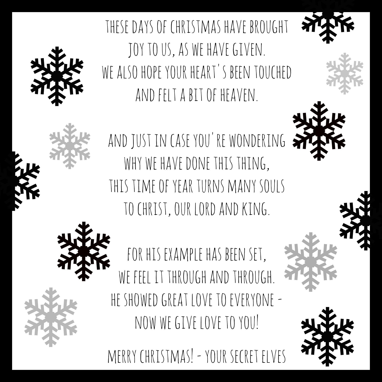 12 Days of Christmas - Share the Christmas Spirit | Pinterest | Free ...