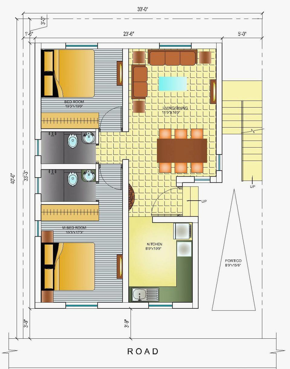 South Facing Home Plan Awesome South Indian House Plans Facing South Facing House Indian House Plans House Floor Plans