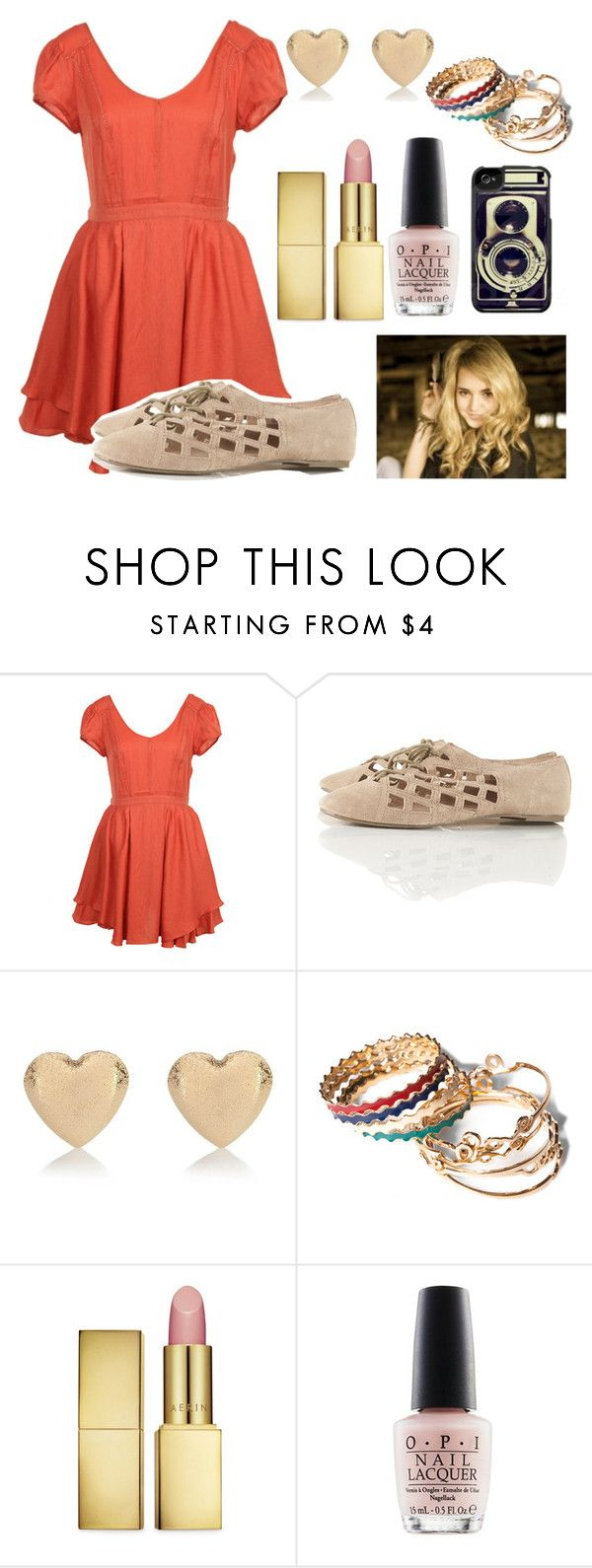 """Beautiful Goodbye"" by live-laugh-love-btr ❤ liked on Polyvore featuring River Island, Pull&Bear, AERIN and OPI"