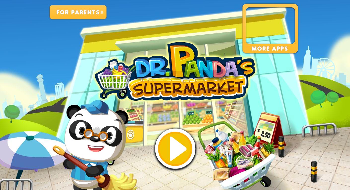 Dr. Panda's Supermarket (With images) Kids app