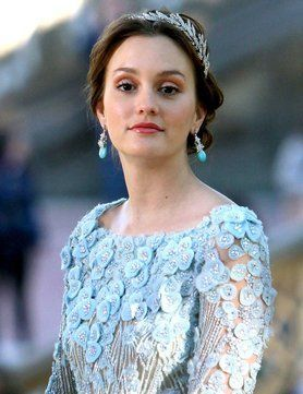 blair waldorf blue wedding dress - Google Search | Mrs Jones ...