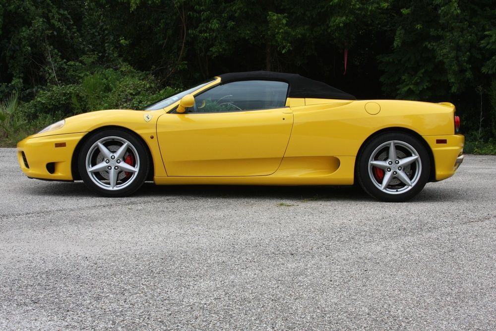 2001 Ferrari 360 Spider 2001 Ferrari 360 Spider For Sale In