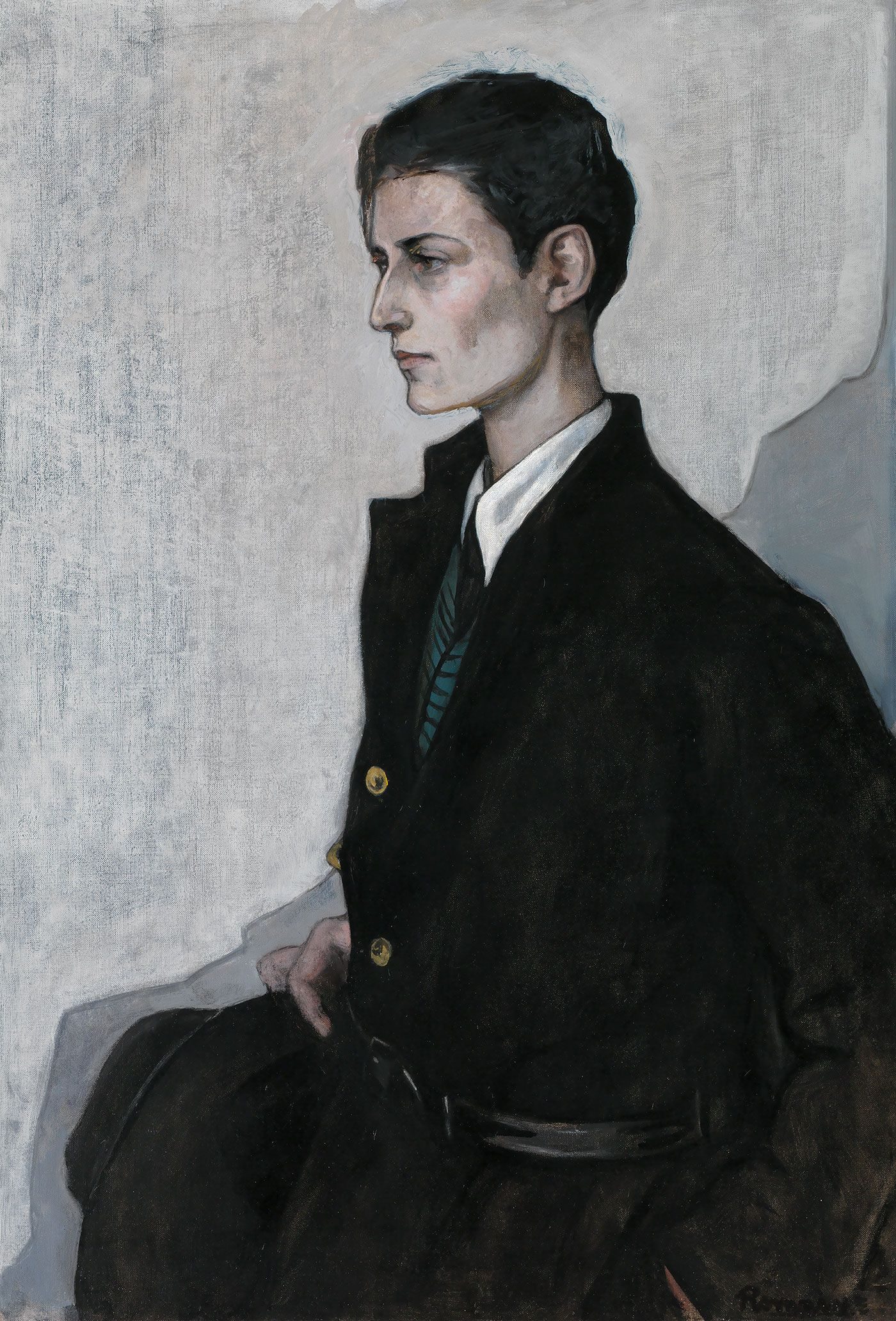 A Lesbian Artist Who Painted Her Circle Of Women At The Turn Of The 20th Century Romaine Brooks English Girls Female Artists