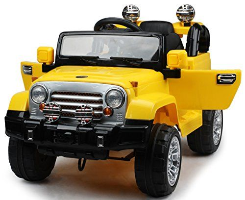 kids cars jeep wrangler 12 volt mp3 electric battery powered