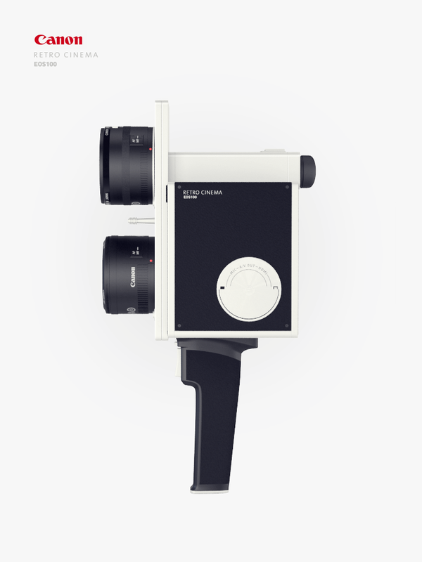 Canon retro cinema