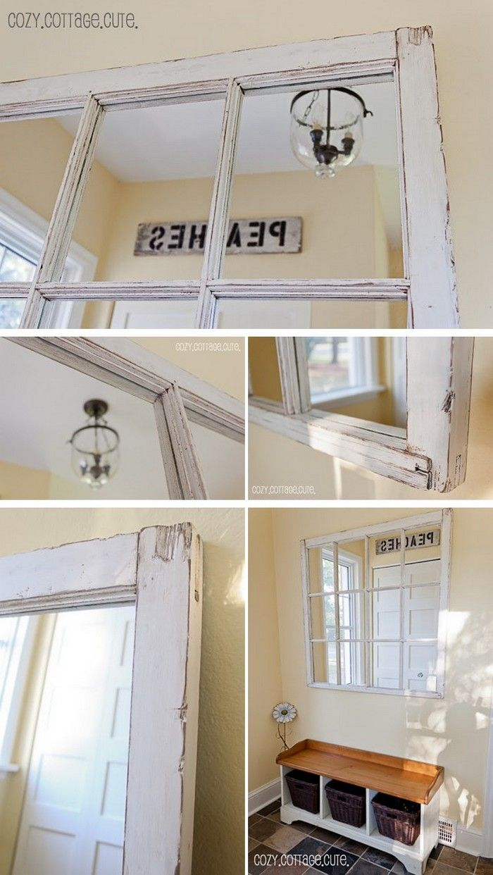 30 Creative Ways to Repurpose Old Windows | Recycling Ideas ...