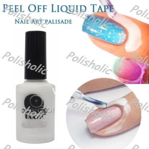White L Off Liquid Tape Base Coat Nail Art Palisade Cuticle Cream