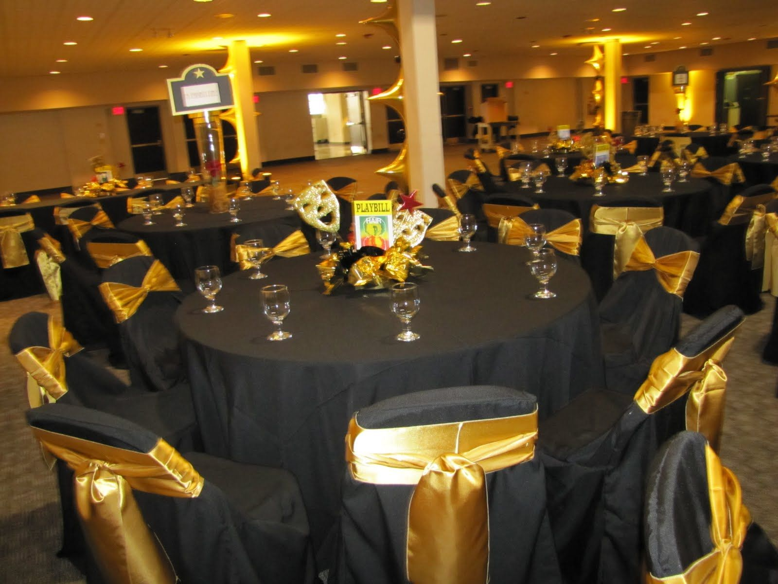 Broadway Themed Awards Banquet 50th Birthday Party Decorations