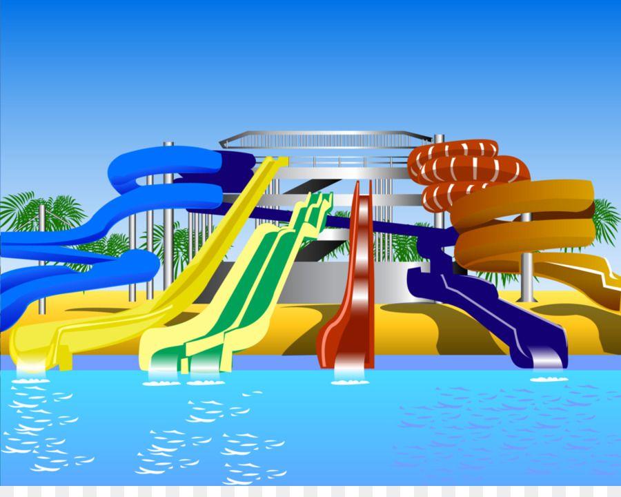 Открытка аквапарк