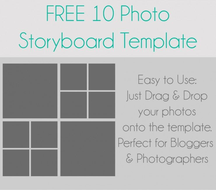 Storyboard Template  Storyboard Template And Photoshop Ideas