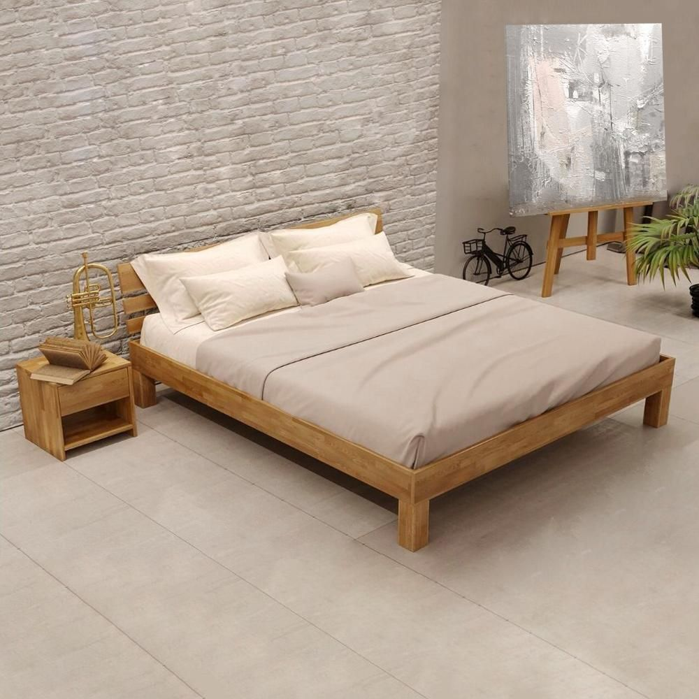 Massivholzbett Julia Eiche In 2020 Furniture Home Bed