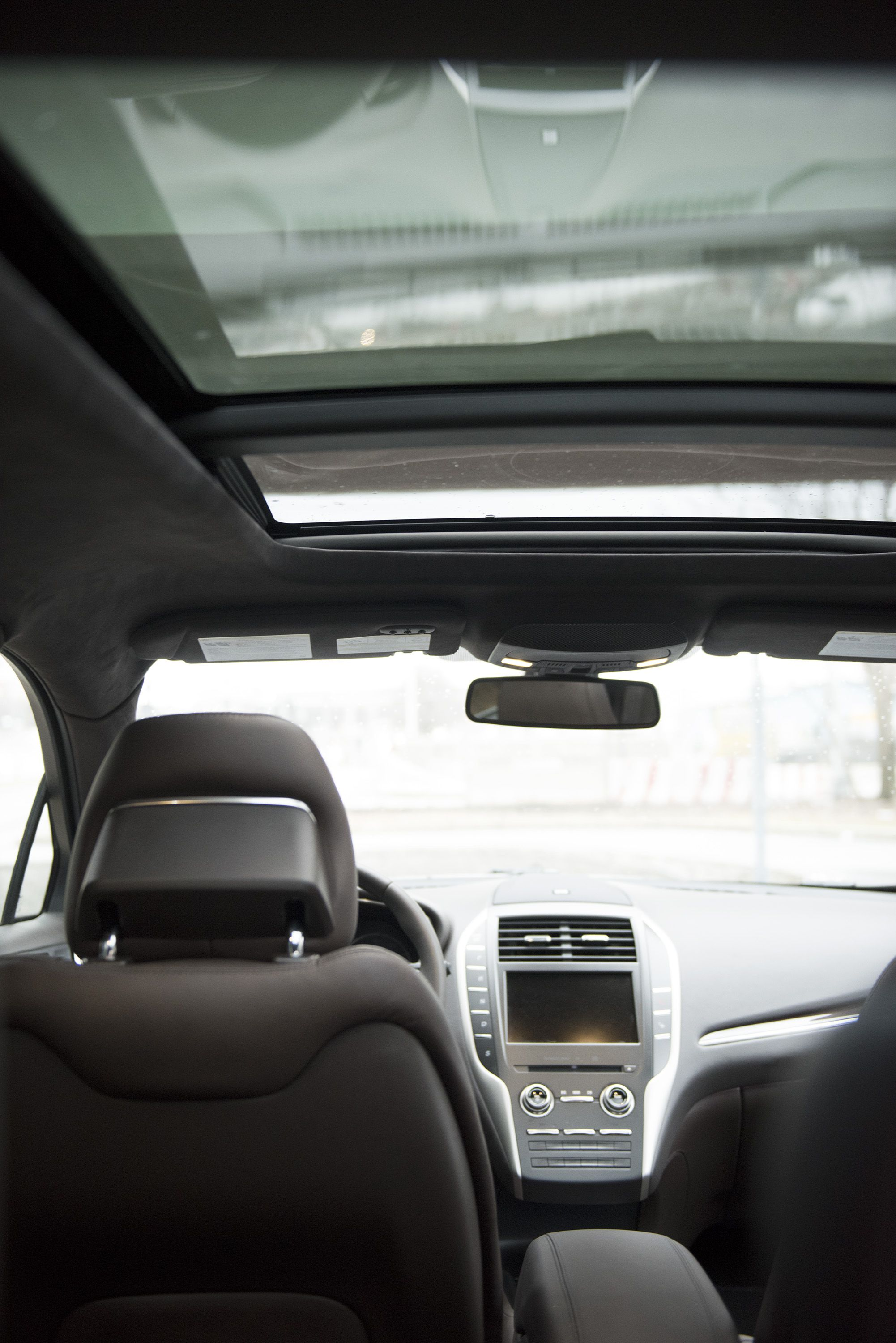 Rich luscious chocolate interiors fit with a panoramic roof