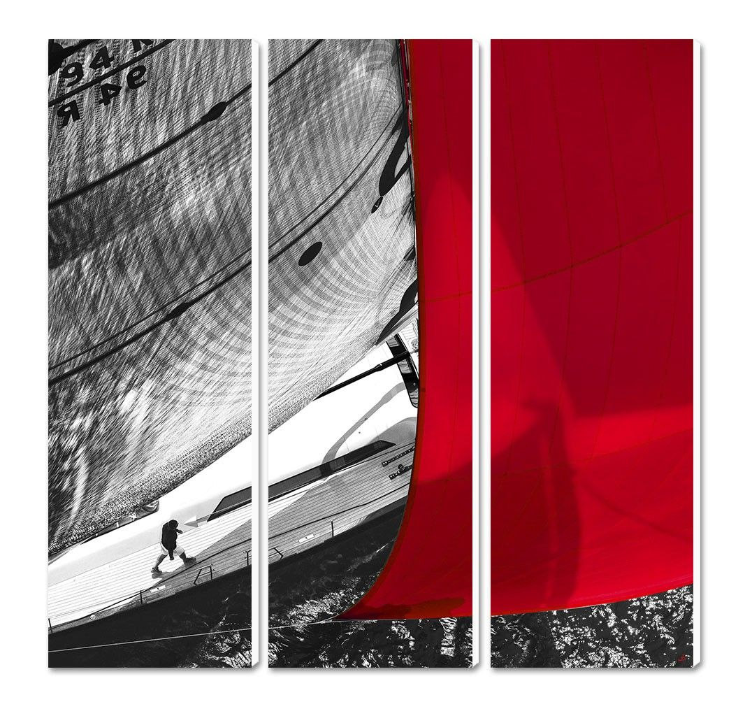 Photo sur toile Etrave rouge Philip Plisson | Phillip Plisson ...