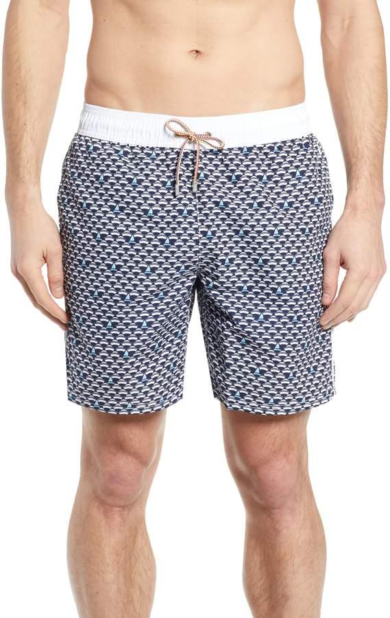 6e272a1f08 Bugatchi Regular Fit Swim Trunks in 2019 | Products | Swim trunks ...