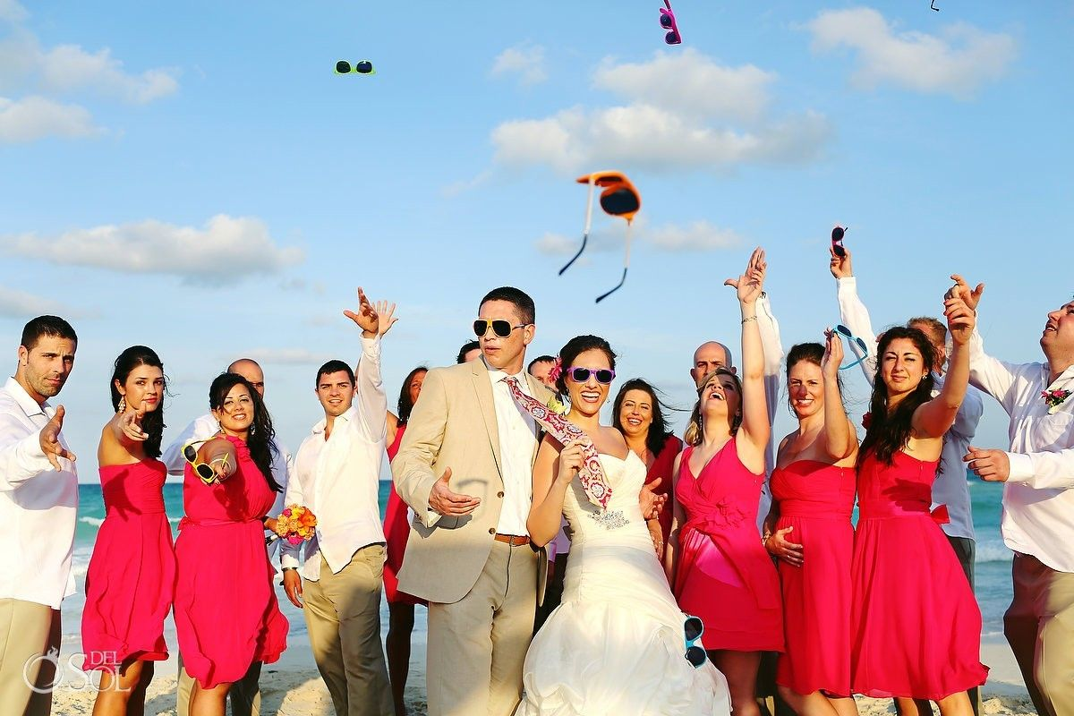 Riviera Maya Beach Wedding At The Iberostar Paraiso Lindo Resort Mexico Photographers Del Sol