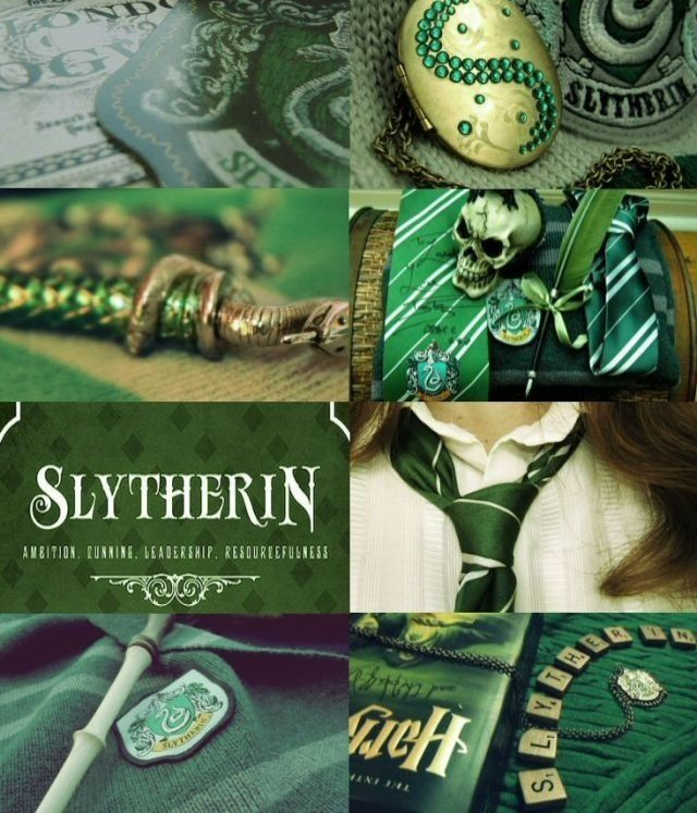 Slytherin, my true home