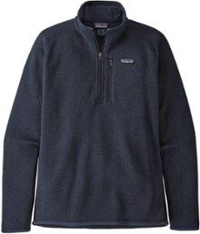 Patagonia Better Sweater Quarter-Zip Pullover - Men's | REI Co-op #womenvest