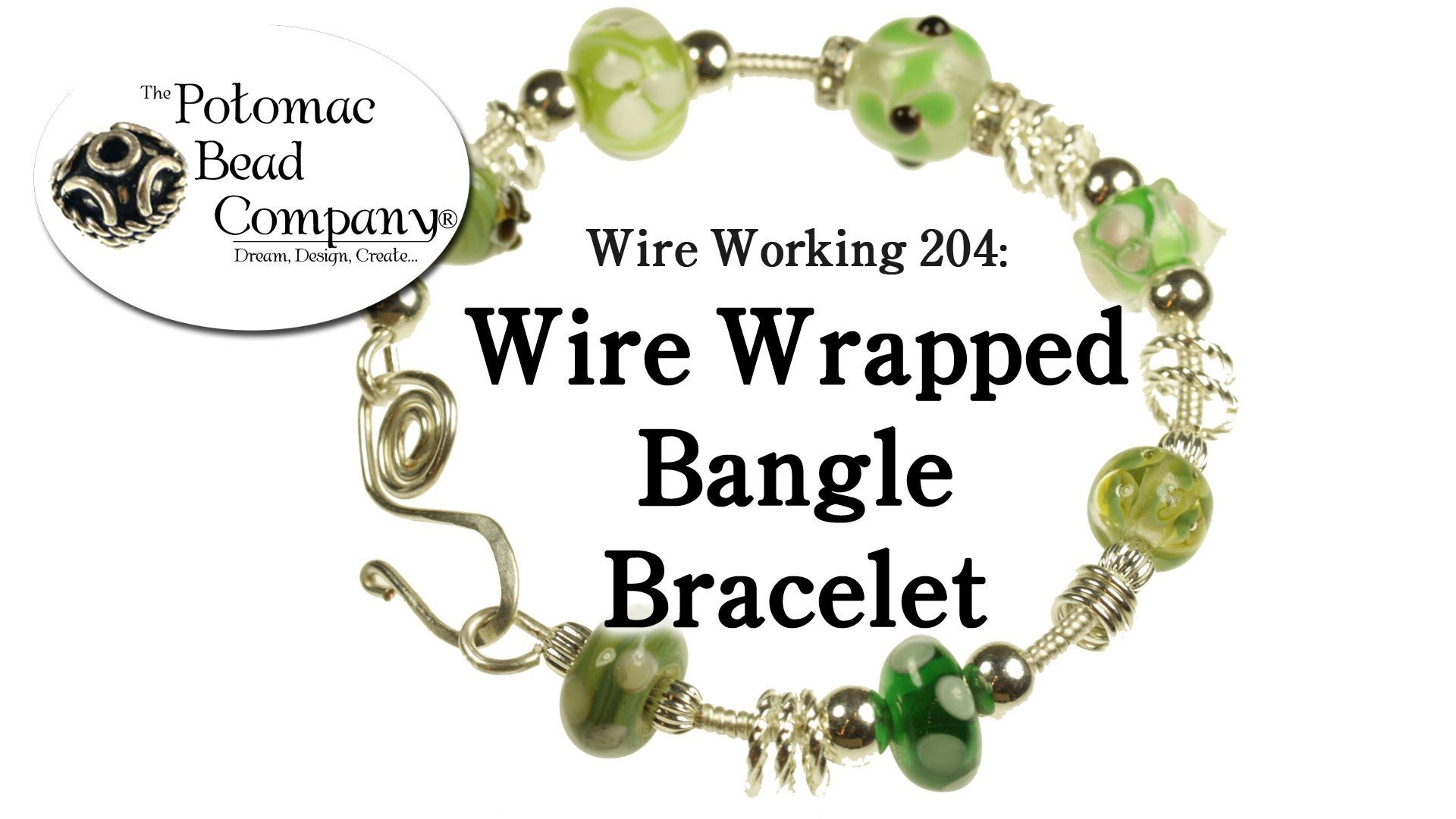 Wire wrapped bangle bracelet playlist bead wire tutorials
