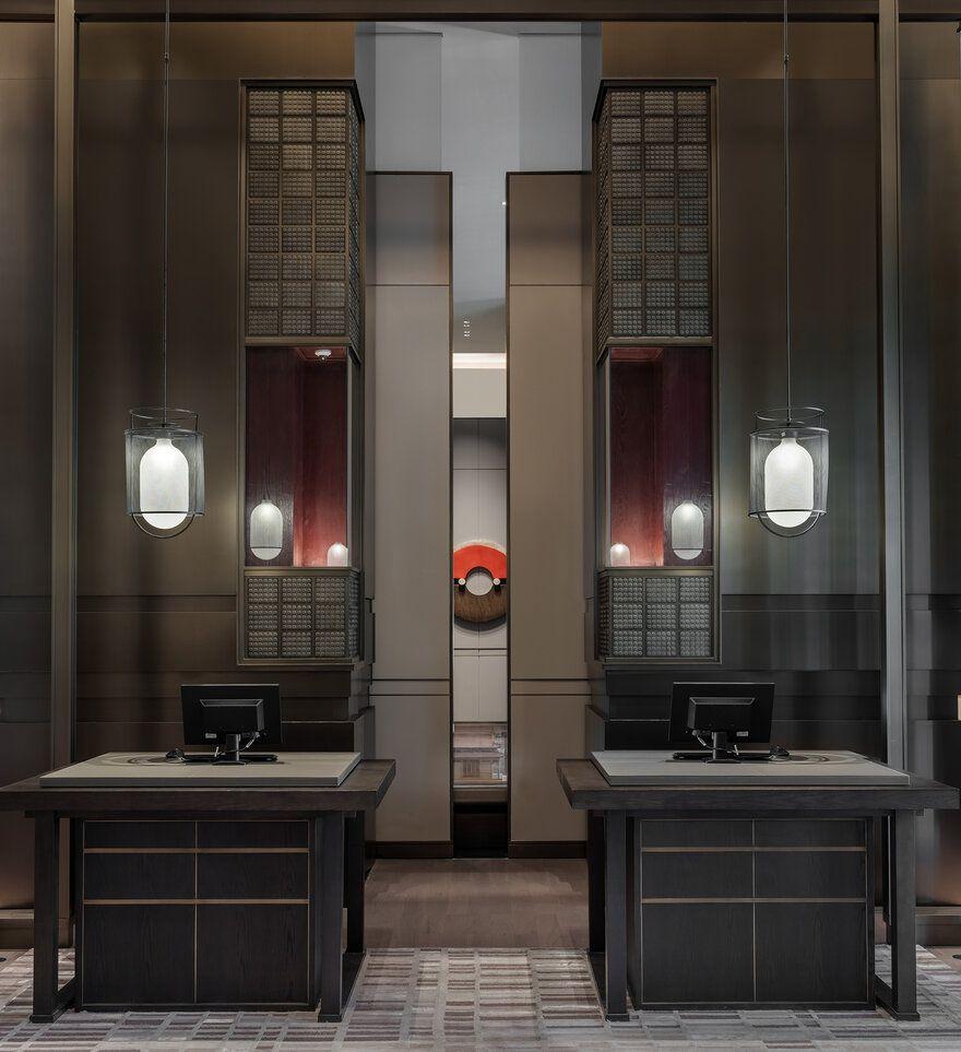 Hualuxe Xi An Hi Tech Zone Ccd Cheng Chung Design In 2020 Hotel Interiors Hotels Design Hotel