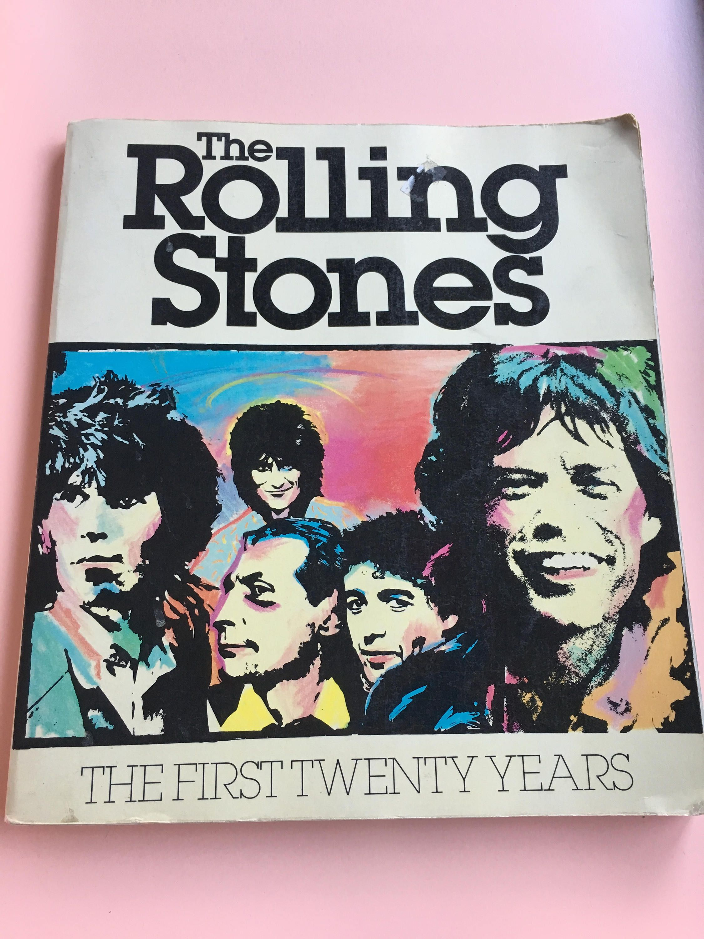 1981 The Rolling Stones The First Twenty Years by David Dalton
