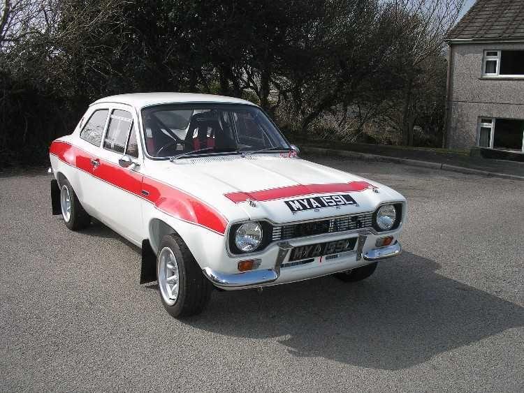 MK1 FORD ESCORT RALLY CAR & MK1 FORD ESCORT RALLY CAR | auto exterior | Pinterest | Ford ... markmcfarlin.com