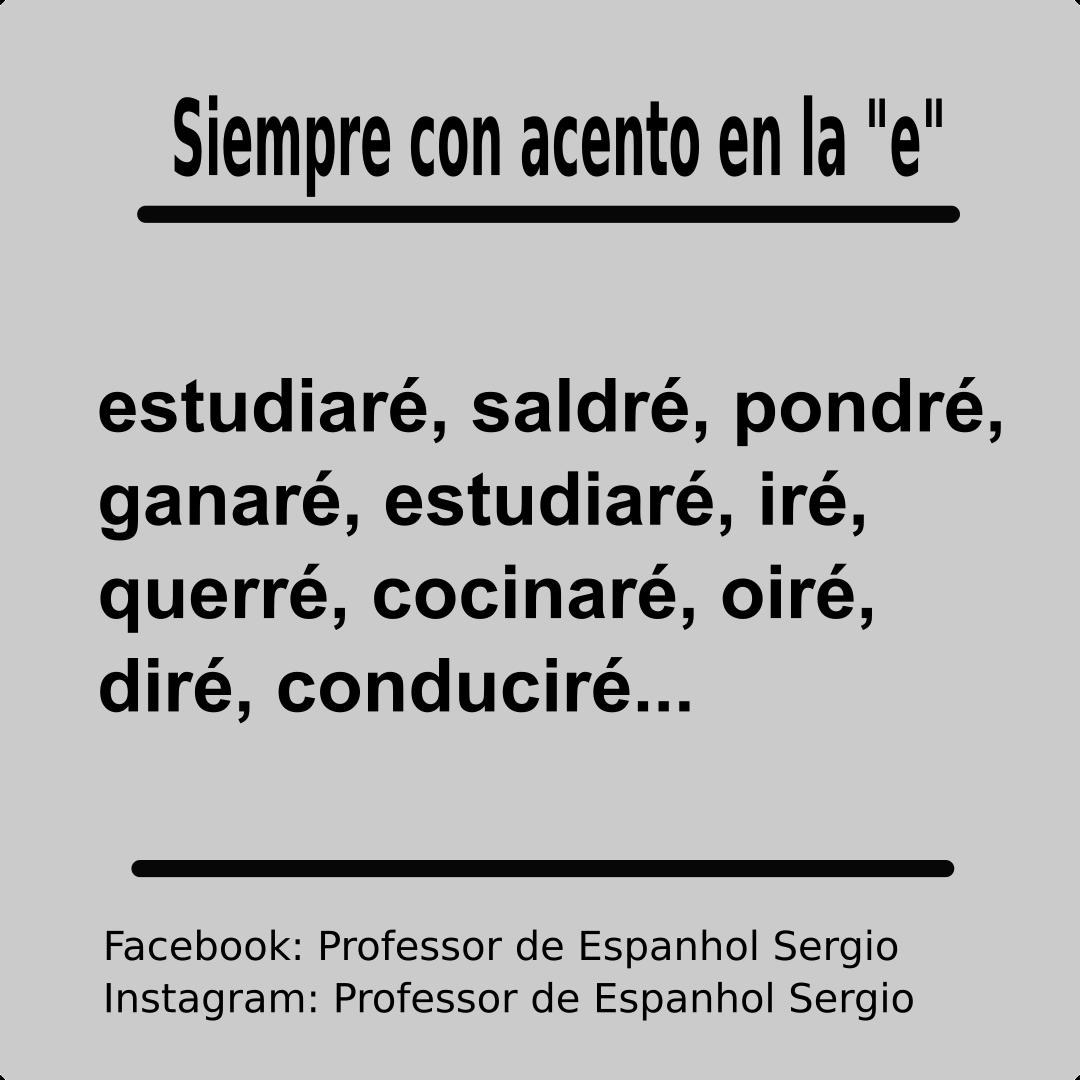 Acentos En Espanol Espanhol Aprenderespanhol