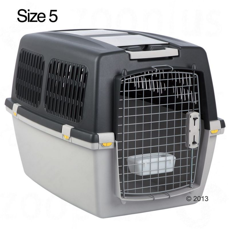 Plastic Dog Transport Crate For Medium Dogs Car Travel Cage Puppy House Kennel Dog Car Travel Pet Transport Dog Crate