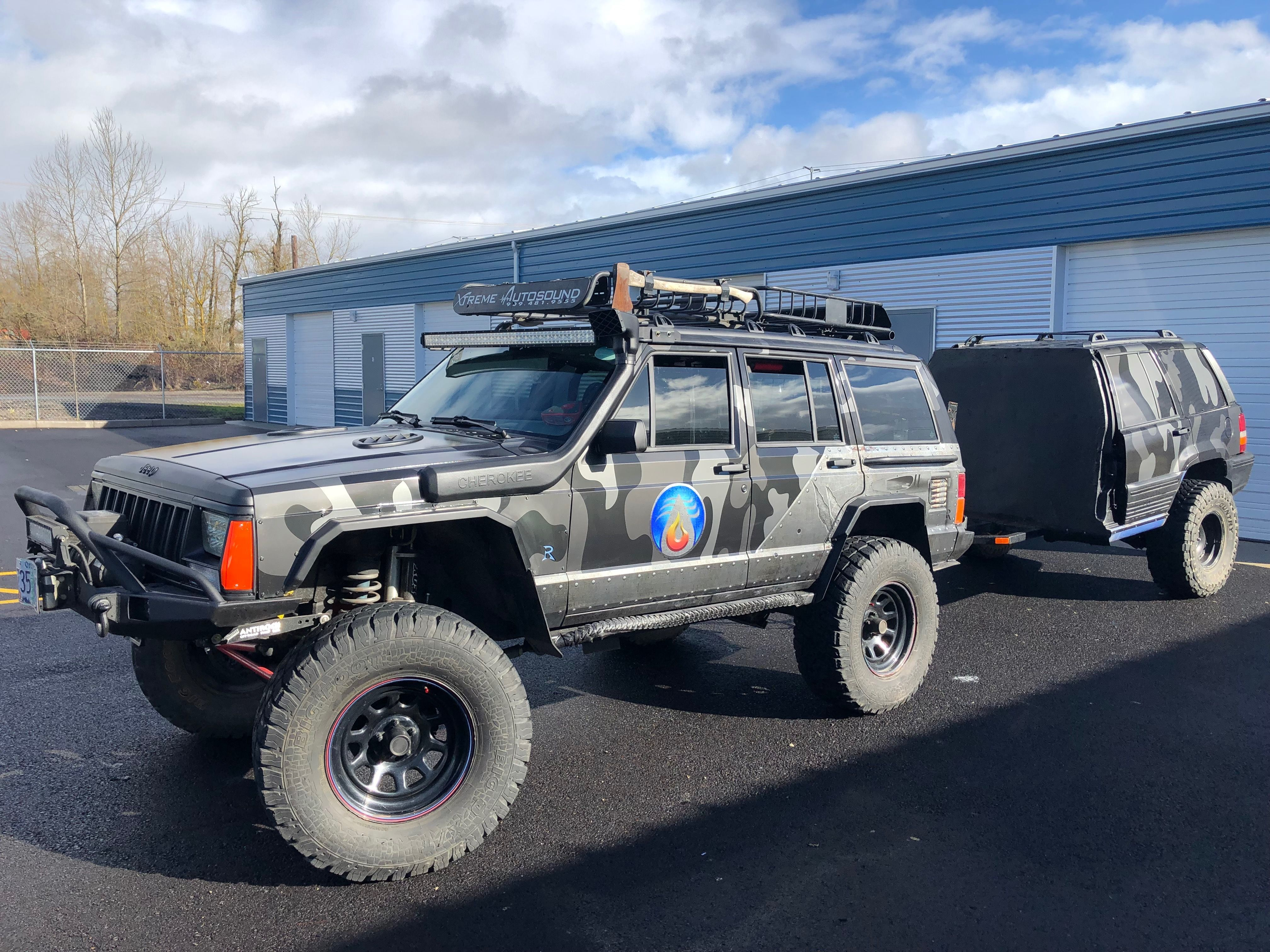 Jeep Cherokee Xj Vinyl Wrap