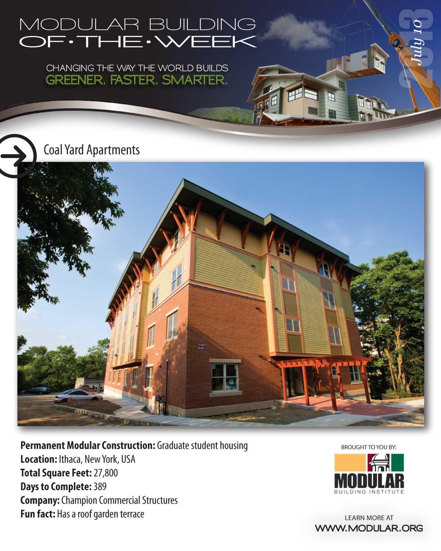 Modular Building Of The Week