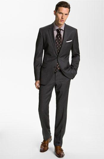 BOSS Black 'Key/Shaft' Trim Fit Suit | Nordstrom | BoysBoysBoys ...