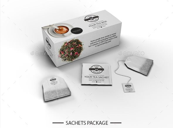 Download Free Tea Packaging Mock Up In Psd Free Psd Templates Free Tea Tea Packaging Tea