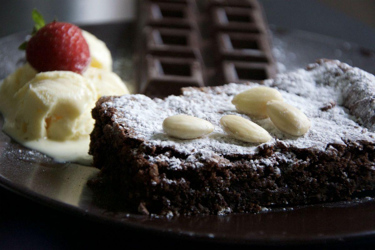 Caprese Cake Recipe Torta Caprese Recept Bakkerijen