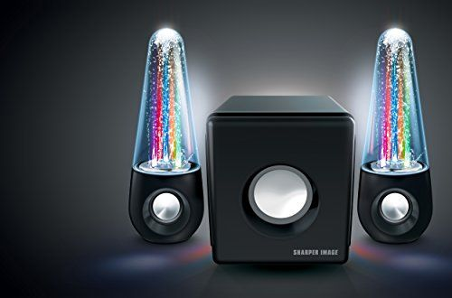 Sharper Image Sbt5002 Water Light Show Bluetooth Streaming 21