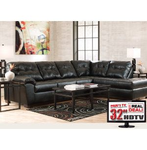 7PC Living Room Package with TV   Leather Furniture Sets   Living Rooms    Art Van7PC Living Room Package with TV   Leather Furniture Sets   Living  . Living Room Furniture Packages With Tv. Home Design Ideas