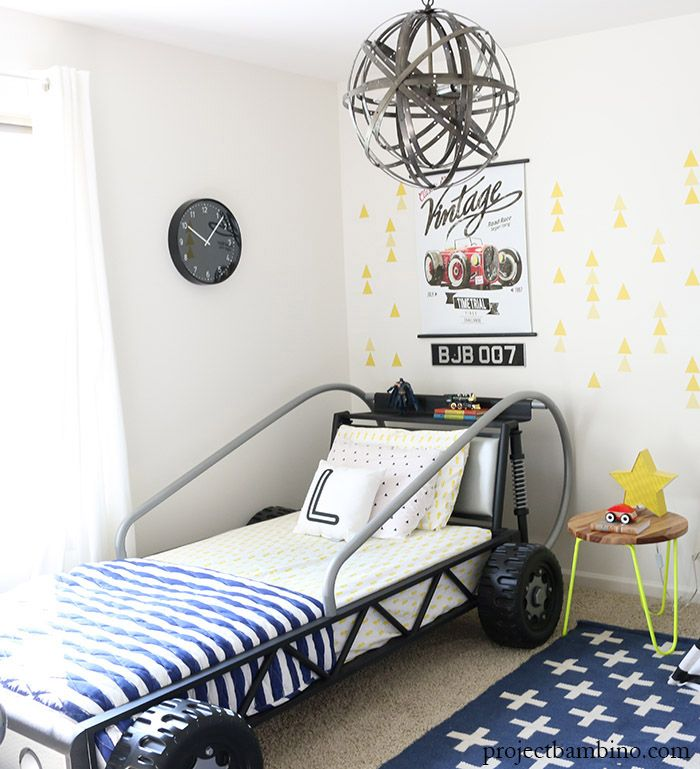 Pin by E on Boys room | Car themed bedrooms, Car themed ...