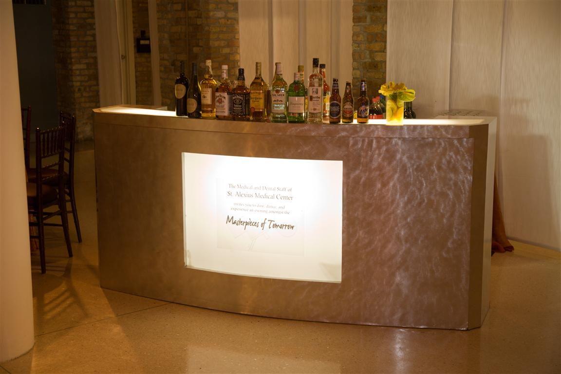 Custom plasma bar / www.mmspecialevents.com / M&M Event Rentals Dallas / M&M Event Rentals Chicago / #mmspecialevents