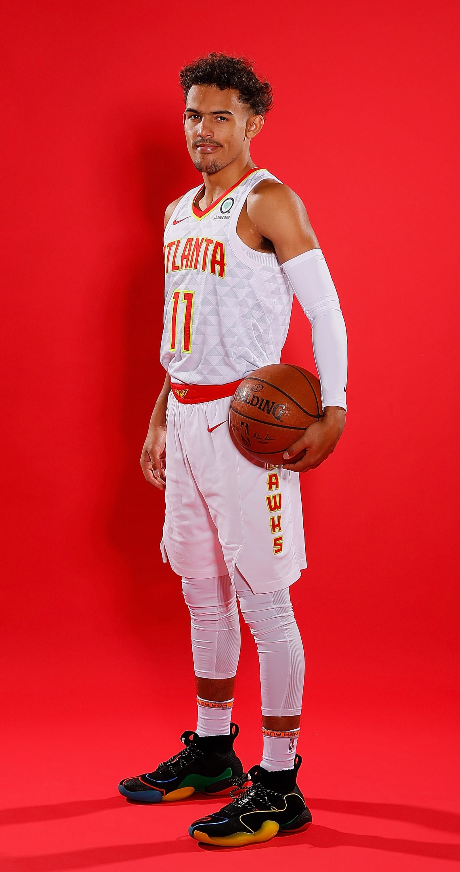 5 Trae Young Pharrell X Adidas Byw X Nba Media Day 2018 Best Sneakers Sole Collector Best Nba Players Nba Nba Players