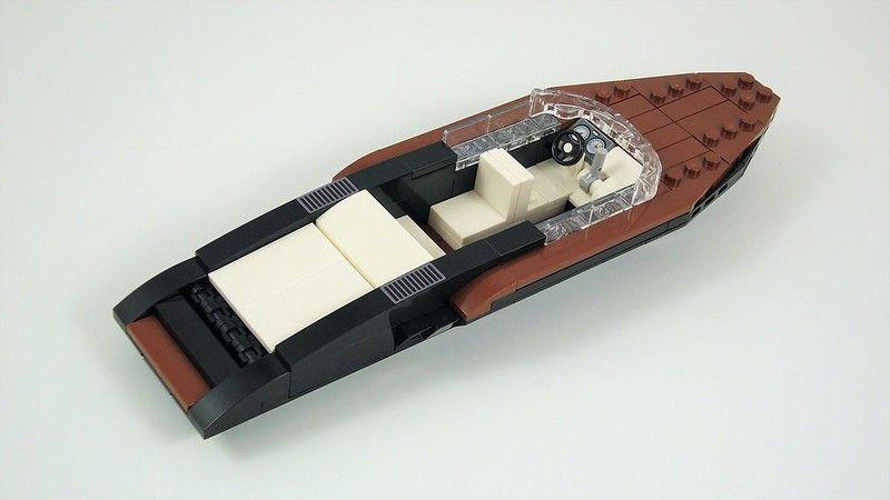Lego 1 Tan cockpit ship airplane car truck