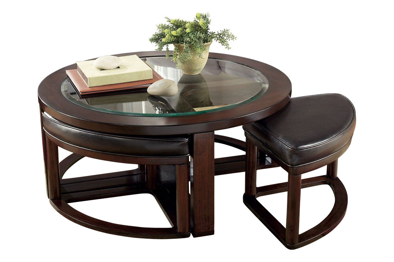 Marion Coffee Table With Nesting Stools Ashley Furniture Homestore In 2021 Coffee Table With Seating Coffee Table With Stools Underneath Coffee Table With Chairs [ 840 x 1260 Pixel ]