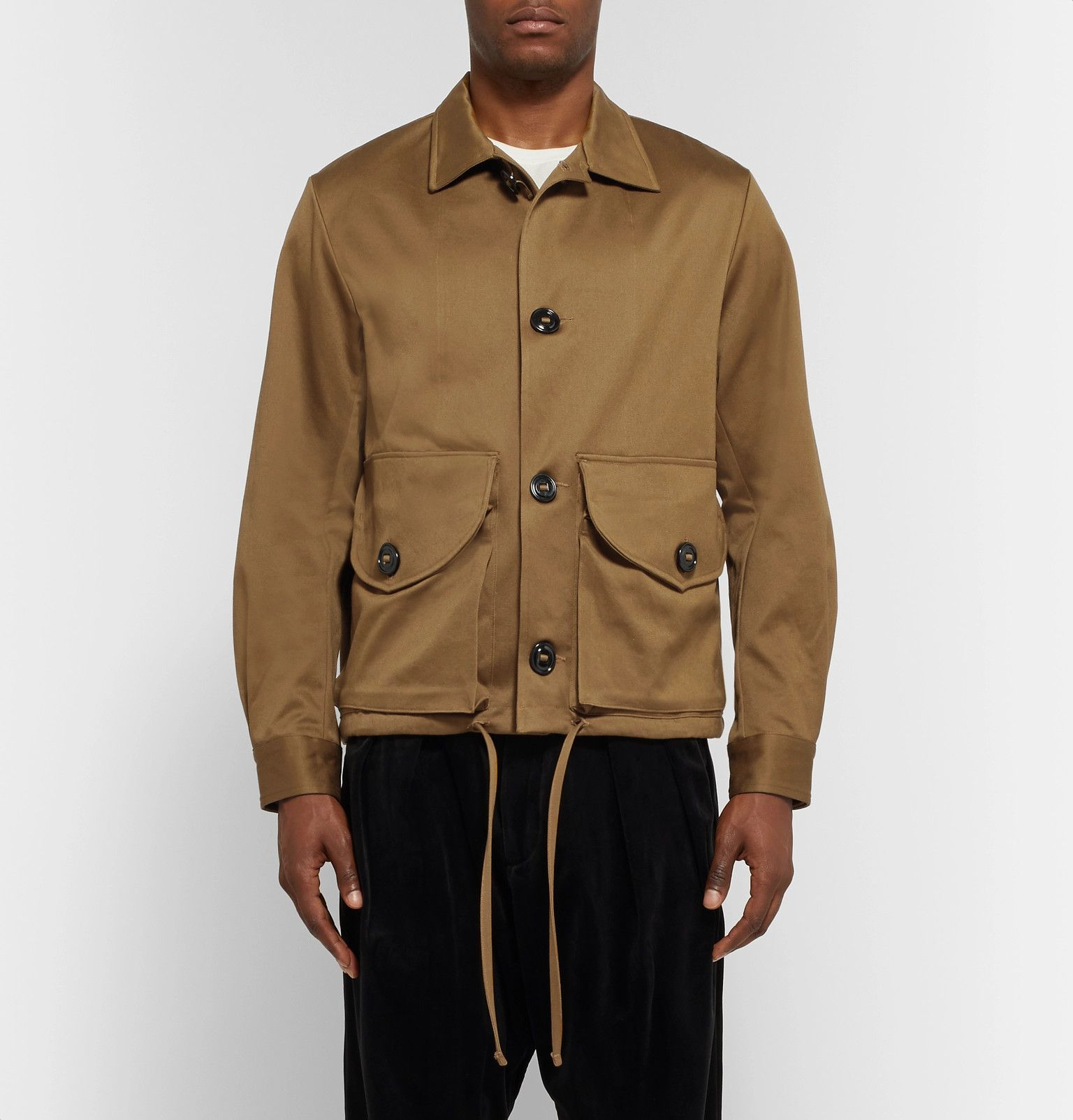 Monitaly - Military Service Type A Cotton Jacket | ss20