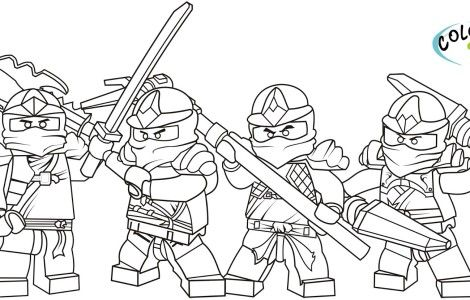 Lego Ninjago Coloring Pages Cole | coloring pages | Pinterest